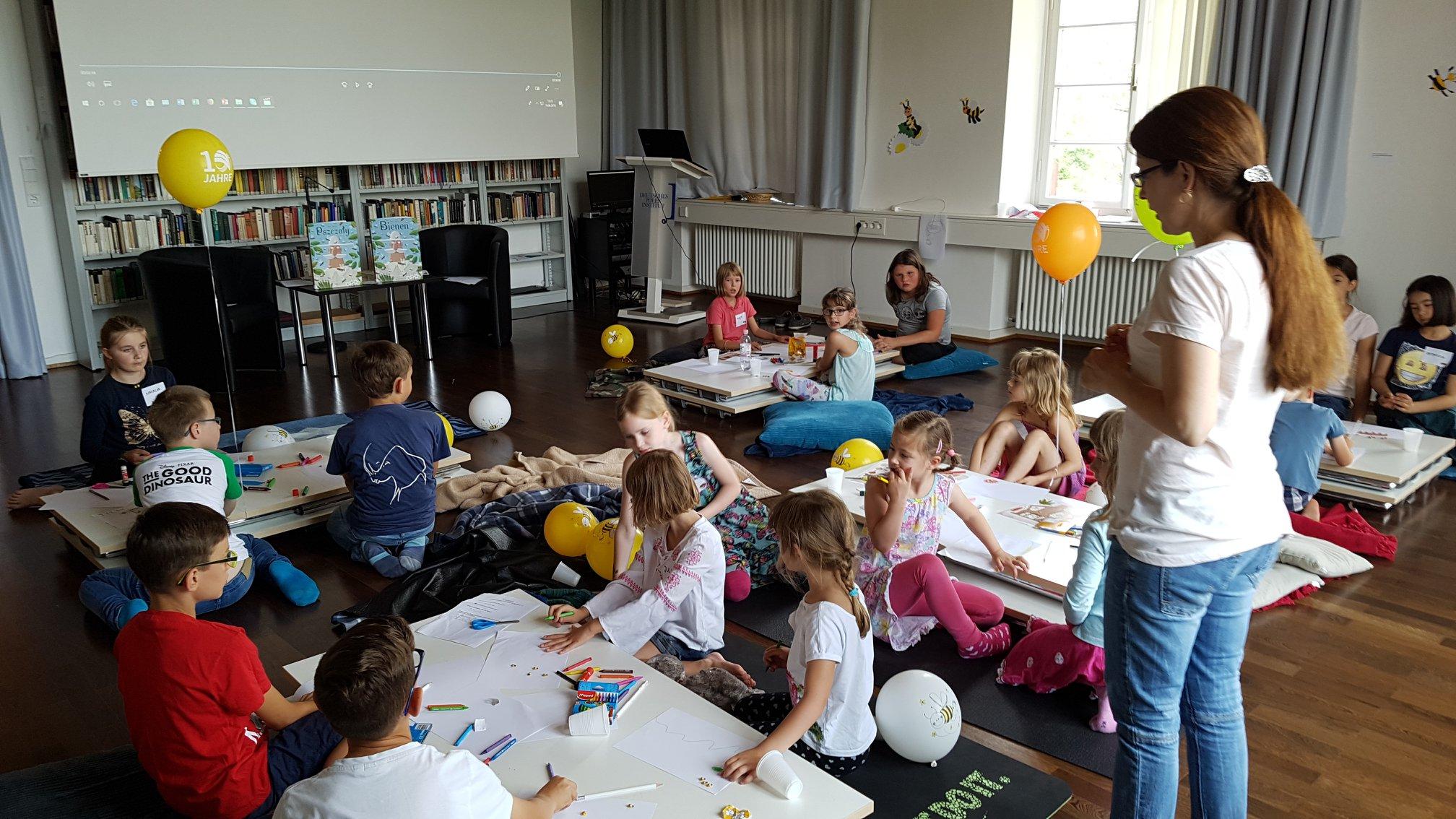 Workshop über Bienen Für Kinder Deutsches Polen Institut